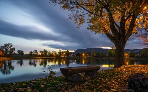 morning autumn landscape lakes croatia autumnmorning nikond600 zaprešić sigma12244556 zajarki lakezajarki