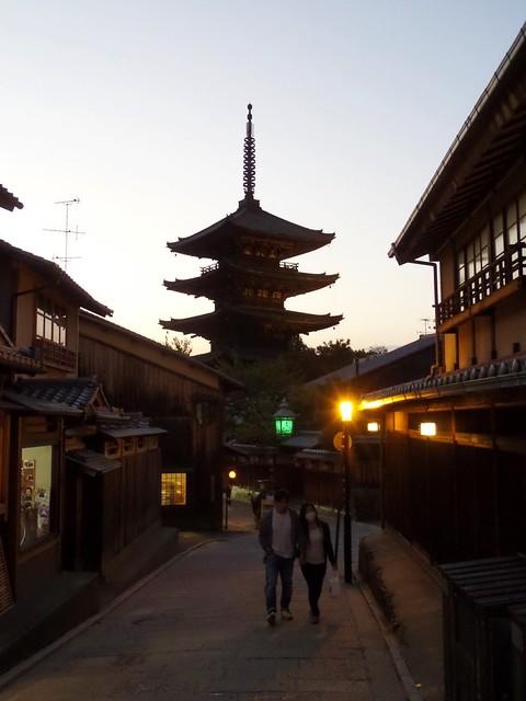 Pagoda at Dusk
