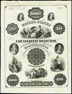 John F. Beazell Counterfeit Detector