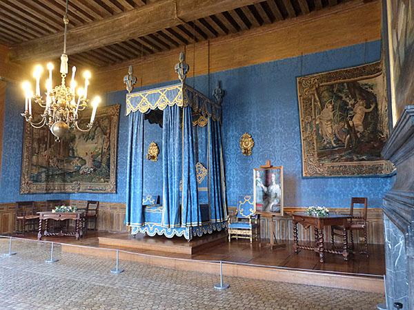 chambre bleue sully