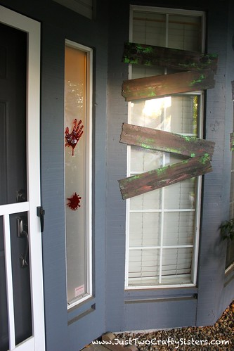 zombie attack decor
