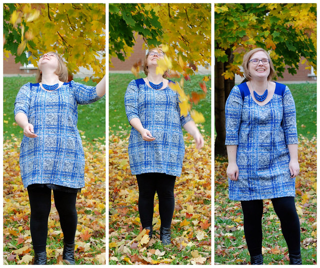 Plaid Ponte Tunic
