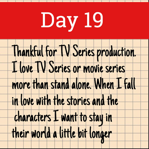Day 19. TV Series Production