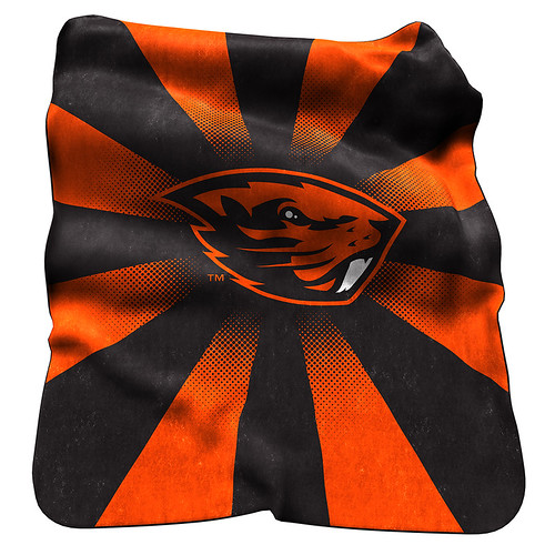 Oregon State Beavers NCAA Raschel Blanket