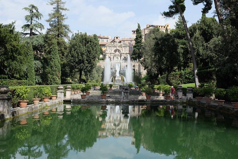 Villa d'Este in Tivoli