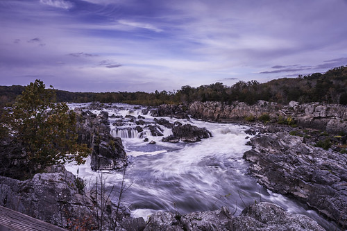 Great Falls, a Wide Angle Perspective by Geoff Livingston