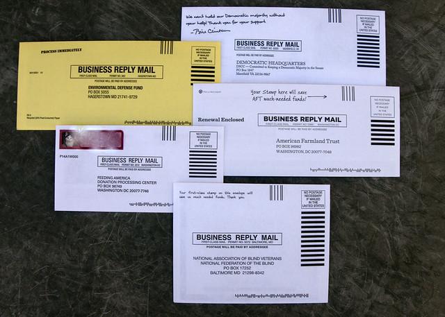 Prepaid envelops