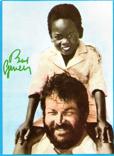 Bud Spencer and Baldwin Dakile in Piedone l'africano  (1978)