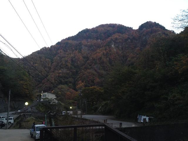 中宮温泉 紅葉