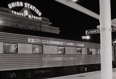 Boston and Maine at Denver Union Station