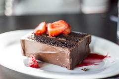 Bourbon Black Velvet Chocolate Cake