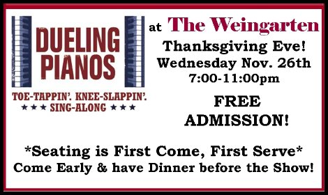 Dueling Pianos 11-26-14