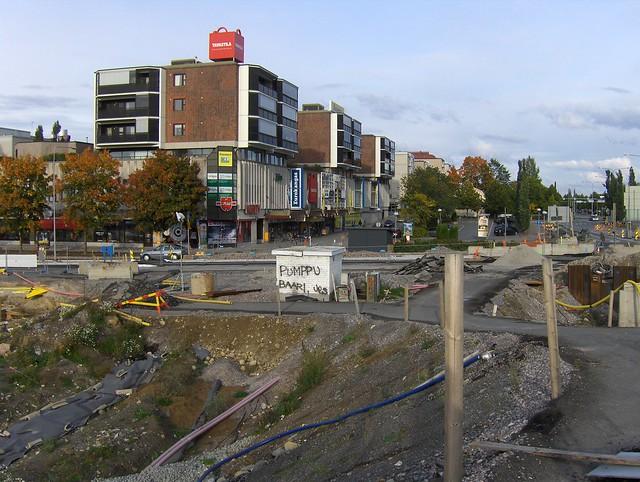 Hämeenlinnan moottoritiekate ja Goodman-kauppakeskus: Työmaatilanne 22.9.2012 - kuva 14