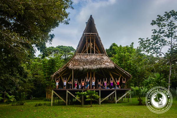Yoga Pavilion in Costa Rica