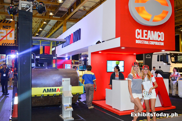 Cleamco Industrial Corporation Trade Show Booth