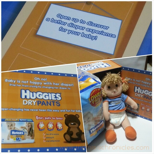 Easy-palit with Huggies Dry Pants