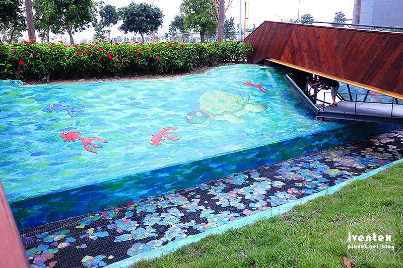 08刀口力台南善化南科幾米裝置藝術小公園