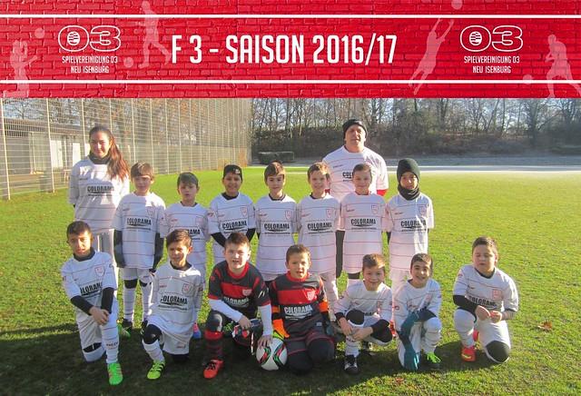 F 3 - Saison 2016/17