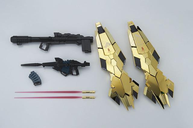 夢幻金色光輝的秘密武器!PG 1/60 獨角獸鋼彈3號機 鳳凰(ユニコーンガンダム3号機フェネクス)
