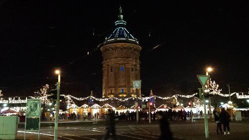Mosconi, Federico; Mannheim, Germany - 22 Weihnachtsmarkt