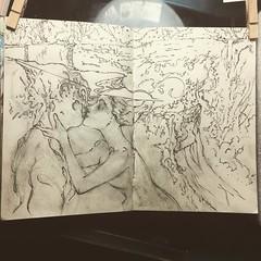 #art #drawing #yungas #girl #anima #carljung #journal