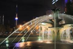 Ōdōri Park by night II / 夜の大通公園