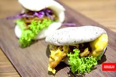 Salted Egg Chicken Bao