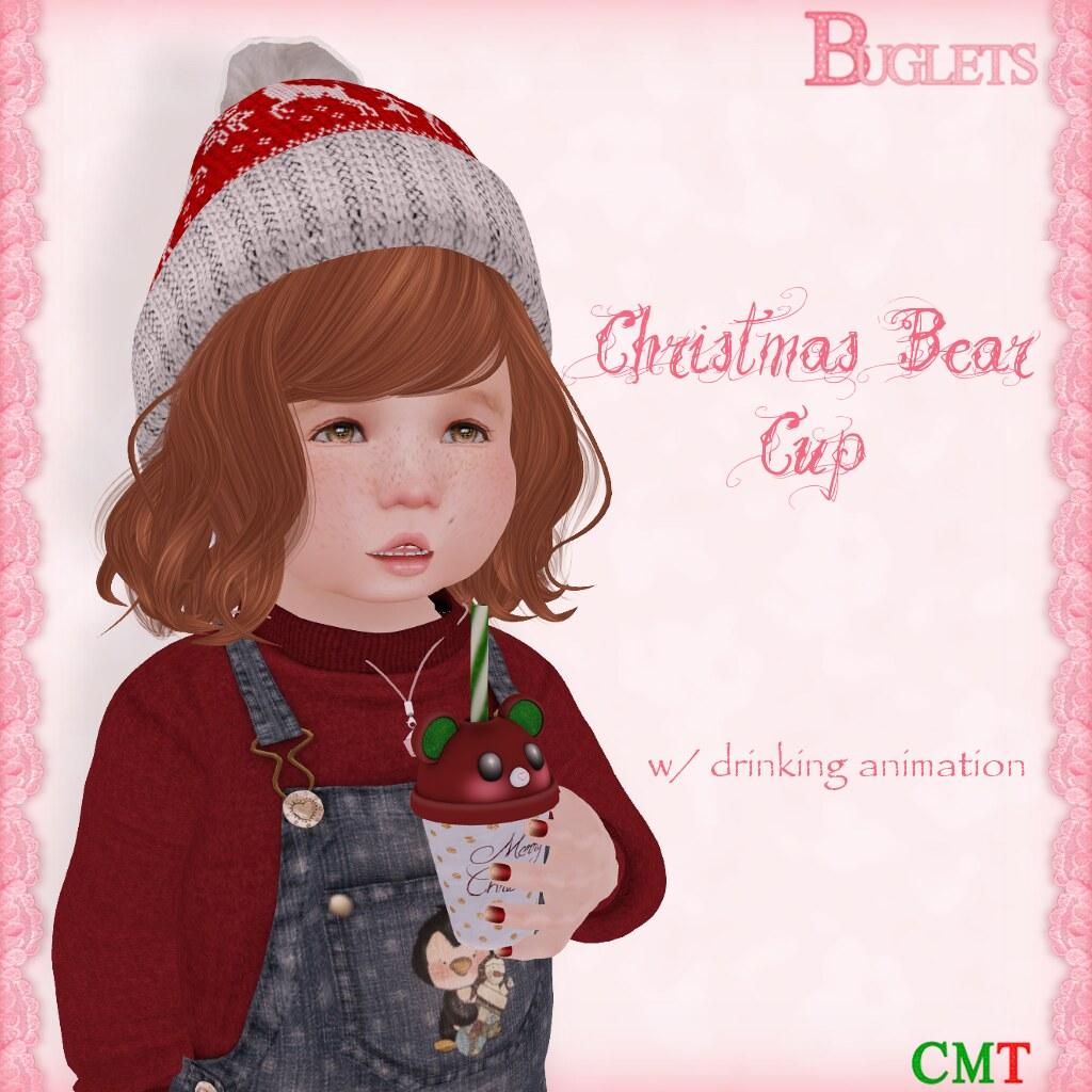 TD Christmas Bear Cup AD - SecondLifeHub.com