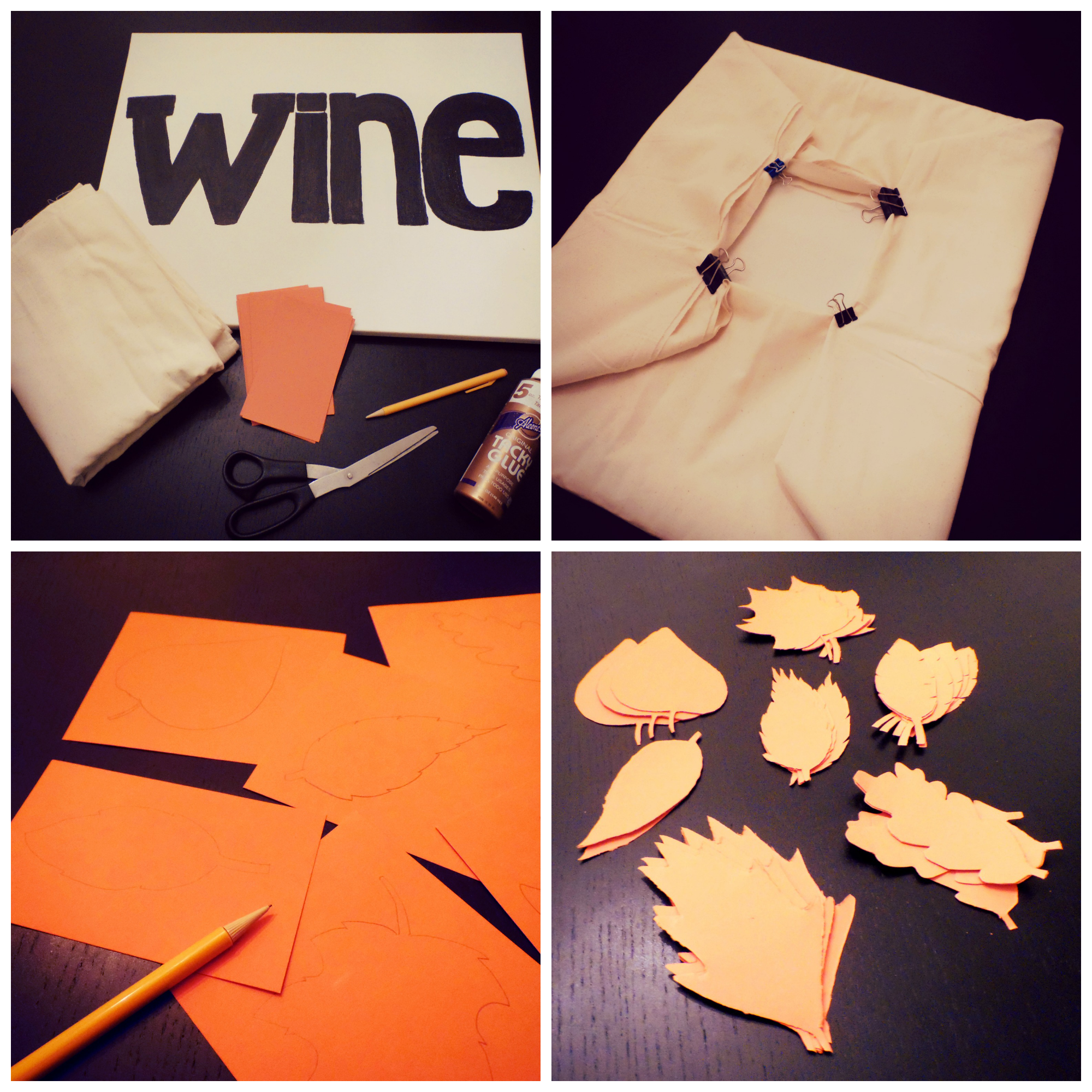 Fall DIY Project Steps