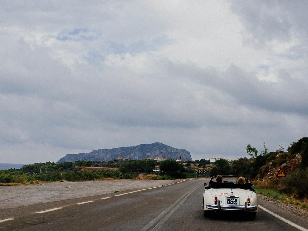 Approaching Monemvasia