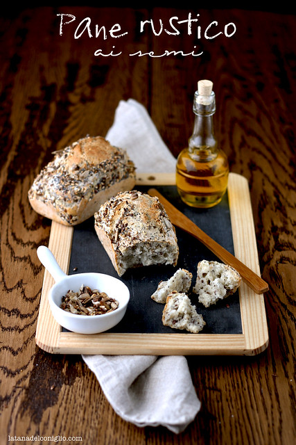 pane rustico ai semi