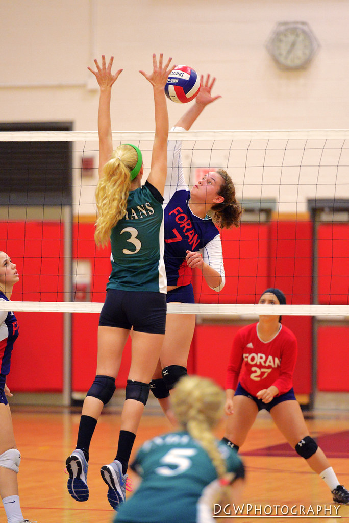 Foran High vs Guilford - High School Volleyball