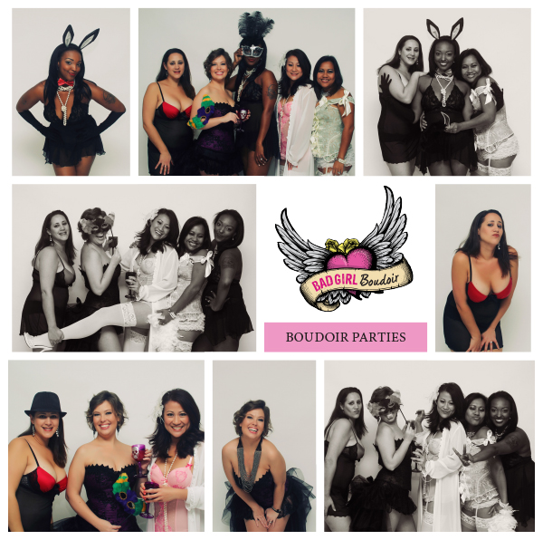 Bachelorette Birthday Boudoir Group Party | Group Rate Boudoir Party