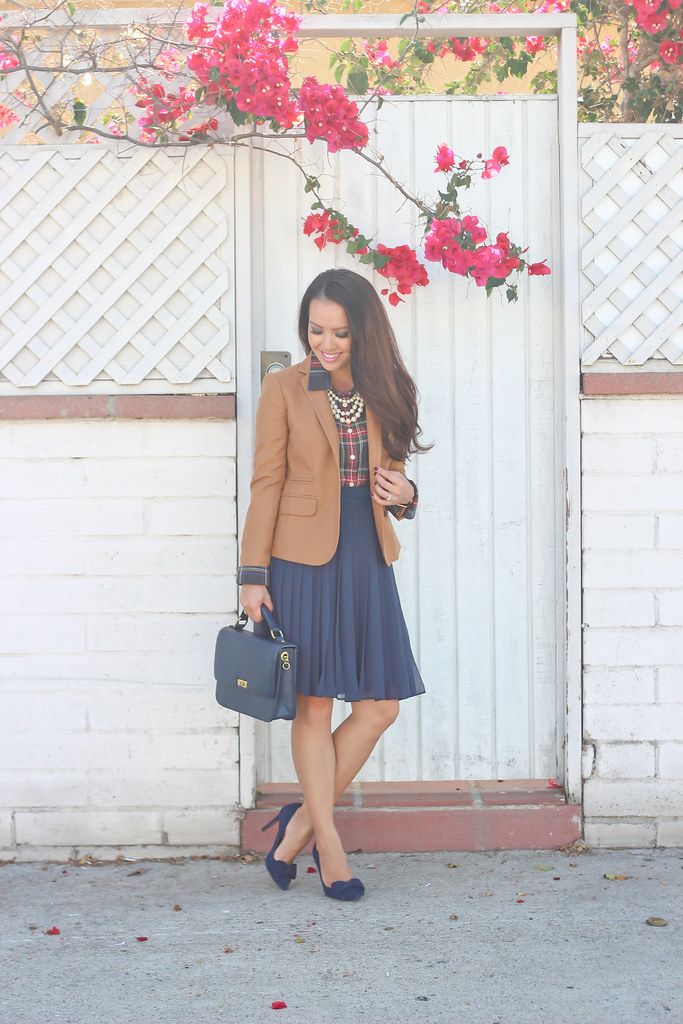 Plaid, Pearls and Pleats-6