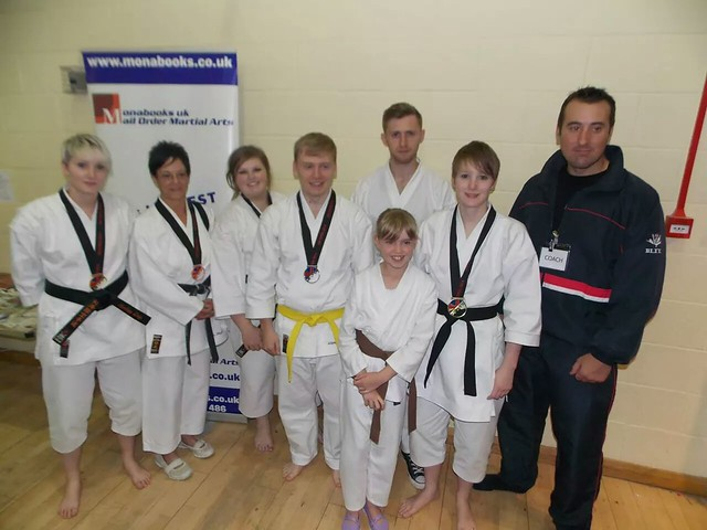 GB Open Karate Championships 2014 Squad