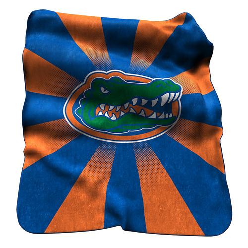 Florida Gators NCAA Raschel Blanket