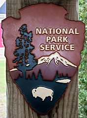National Park Service Sign