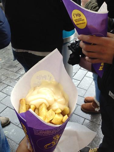 Manneken Pis frites