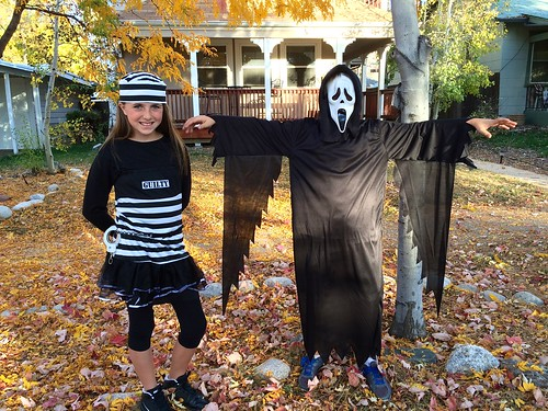 Abbie and Jack - Halloween 2014