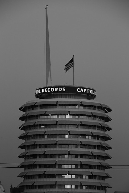 Capitol Records.  LA, California.