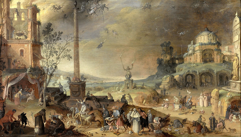 Claes Jacobsz van der Heck - Allegory of the vices, 1636