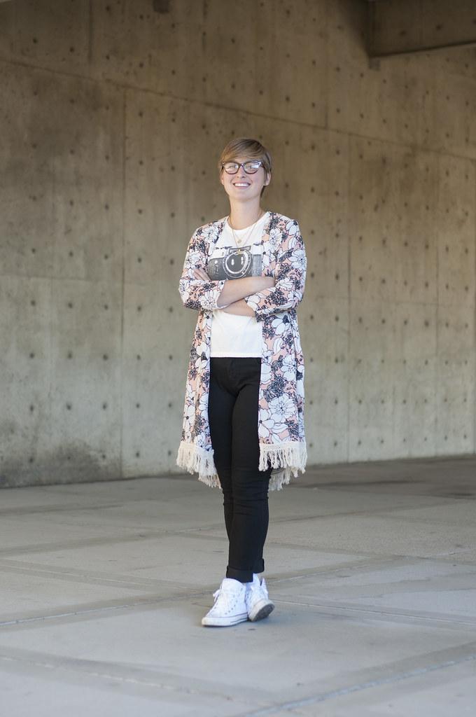 Caitlyn at UVU - Utah Threads