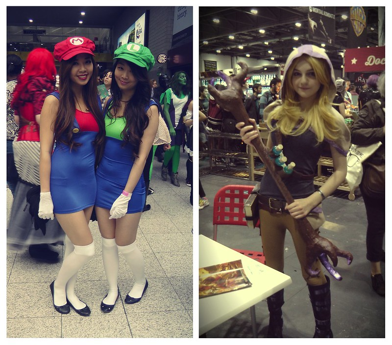 Cosplayers at MCM London Comic Con, part 2