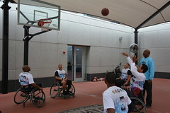 wheelchair sports, sport venue, disabled sports, sports, room, wheelchair basketball, basketball,