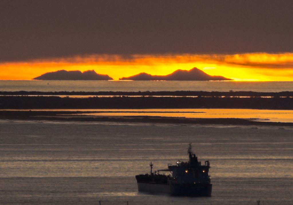 Le canigou mais oui on peut le voir marseille hier - Heure du coucher de soleil aujourd hui ...