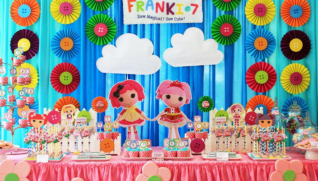 Lalaloopsy Themed Birthday Party