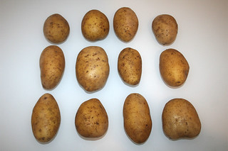10 - Zutat Kartoffeln / Ingredient potatoes