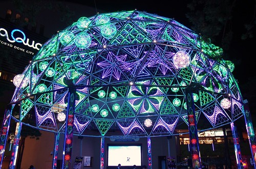 東京ドーム ウィンターイルミネーション Tokyo Dome Winter Illumination 2013