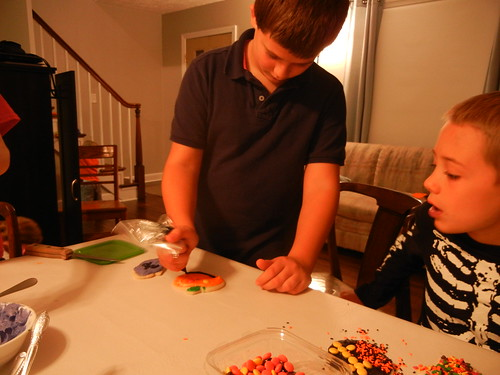 Oct 27 2014 FHE Halloween Sugar Cookies (14)