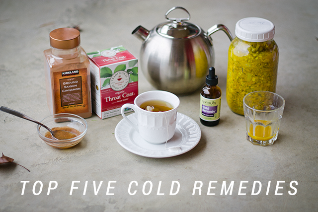 Top Five Cold Remedies